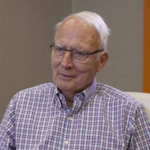US Senator David Durenberger